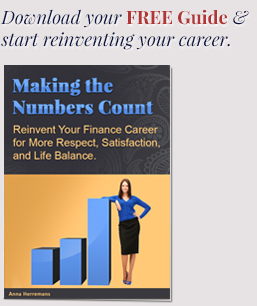 Anna Herremans - Career Success Coach - Making the Numbers Count: